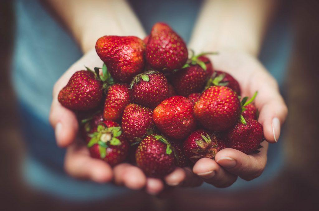 fraises du miam ô fruit - Mélanie Mordogan