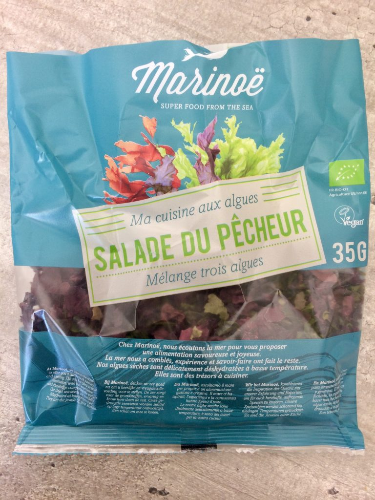 Tartare d'algues Melanie Mordogan naturopathe